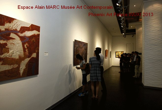 "Alain MARC exposition ""Enjoyable Nature"" Phoenix Art Palace WUYXI 2013"