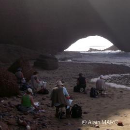 Stage carnet de voyage au Maroc, Alain MARC, Maroc 2008