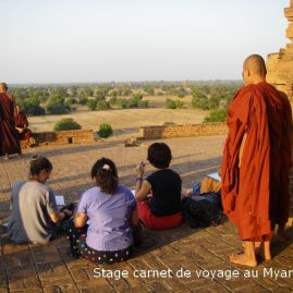 Stage carnet de voyage au Myanmar, 2012