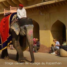 Stage carnet de voyage au Rajasthan, Alain MARC, Inde 2014