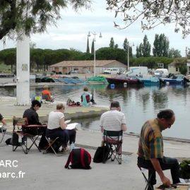 Stage aquarelle en Provence, Alain MARC Provence 2008