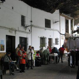 Stage carnet de voyage des villages blancs, Alain MARC Andalousie Espagne 2004
