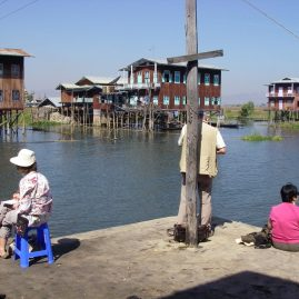 Stage aquarelle - carnet de voyage au Myanmar Alain MARC Myanmar 2012
