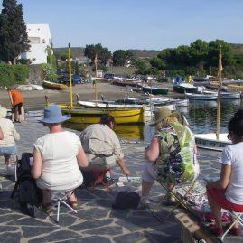 Stage carnet de voyage de Collioure à Cadaquès, Alain MARC 2011
