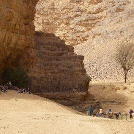 Stage aquarelle - carnet de voyage à Djanet Alain MARC Algérie 2008