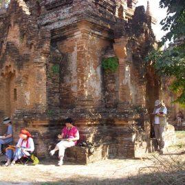 Stage aquarelle - carnet de voyage au Myanmar Alain MARC Myanmar, 2012