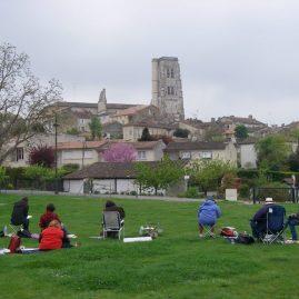 Stage aquarelle en Pays de Cocagne, Alain MARC 2012
