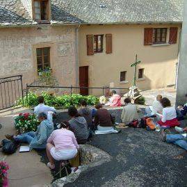 Stage randonnée aquarelle en Aveyron, Alain MARC 2009