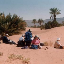 Stage carnet de voyage Grand Sud Alain MARC Maroc, 1997