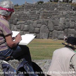 tage carnet de voyage au Pérou sur la route des Incas, Alain MARC 2014