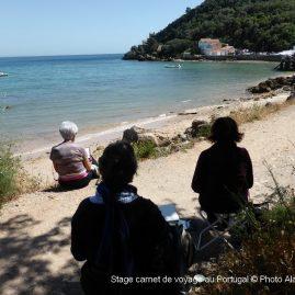 Stage carnet de voyage au Portugal, Alain MARC Portugal 2015