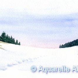 Départ pour l'Inde, et retour dans les montagnes du Jura