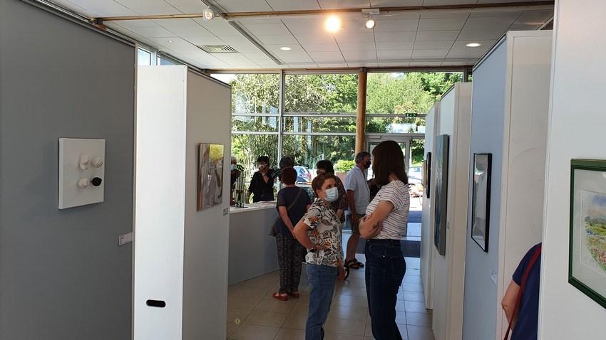 Exposition Biennale des petits formats de l'artothèque de l'Aveyron à Rieupeyroux