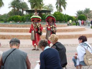 Stage aquarelle - carnet de voyage à Marrakech Alain MARC, Maroc, 2008