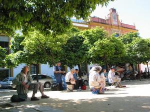 Stage aquarelle - carnet de voyage en Andalousie Alain MARC