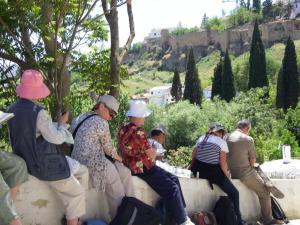 Stage aquarelle - carnet de voyage en Andalousie Alain MARC à Ronda, 2010