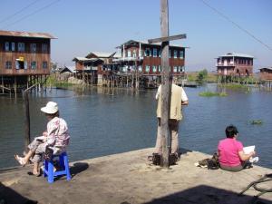 Stage aquarelle - carnet de voyage au Myanmar Alain MARC