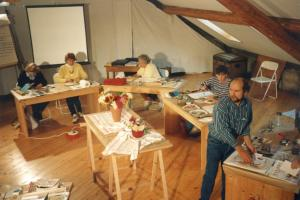 Stage aquarelle en Jura Oriental 1997