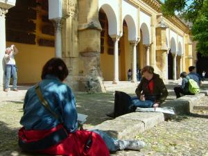 Stage aquarelle - carnet de voyage de la route du Califat Alain MARC Andalousie, Espagne