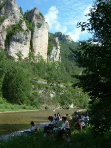 Stage aquarelle dans les Gorges du Tarn, Alain MARC