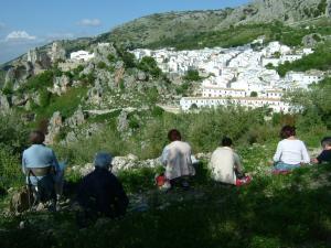 Stage carnet de voyage des villages blancs, Alain MARC Andalousie Espagne 2010