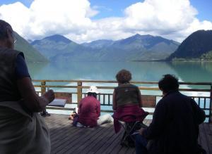 Stage carnet de voyage au Tibet, Alain MARC Tibet 2011