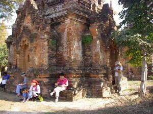 Stage aquarelle - carnet de voyage au Myanmar Alain MARC Myanmar