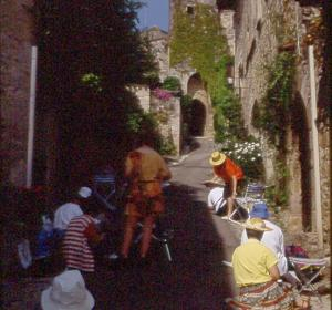 Stage Bastides occitanes, Alain MARC 2001