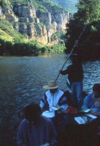 Stage Goges du Tarn sur la barque
