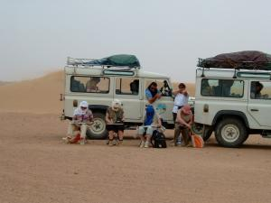 Stage carnet de voyage Grand Sud, Alain MARC, Erg Lihoudi Maroc