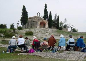 Stage aquarelle en Provence, Alain MARC
