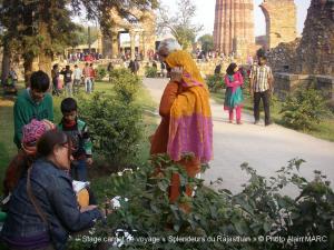 Stage carnet de voyage « Splendeurs du Rajasthan » Alain MARC 2013