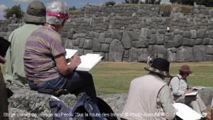 Stage carnet de voyage au Pérou sur la route des Incas Alain MARC 2014