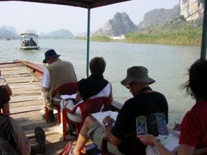 Stage carnet de voyage au Vietnam, Alain MARC 2013